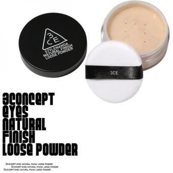 Harga 3CE NATURAL FINISH LOOSE POWDER#002
