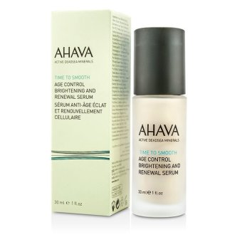 Harga Ahava Time To Smooth Age Control Brightening and Renewal Serum 30ml/1oz (EXPORT)