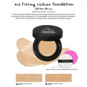 Harga 3CE FITTING CUSHION FOUNDATION # 002
