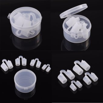 Harga Yidabo Silica Gel Vents Anti Snore Sleep Apnea Nasal Dilators Stop Snoring Congestion Nose Cones - intl