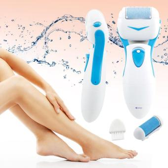 leegoal Pro Pedicure Kit Pedi Foot File Hard Dead Skin Electrical Care Callus Remover, Blue - intl
