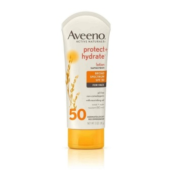 Harga Aveeno Protect + Hydrate Lotion Sunscreen SPF50 for Face 85g