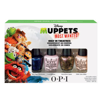Harga O.P.I Muppets Most Wanted Mini Collection