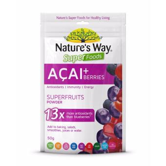 Harga Nature's Way Super Foods Acai 50g