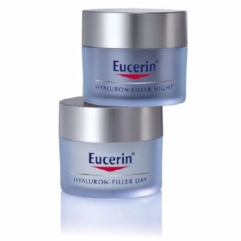 Eucerin Hyaluron Filler Day Cream 50ml FREE Night Cream 50ml