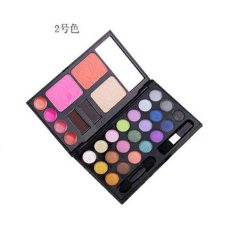 Harga Earth Multicolor Pigment Eyeshadow Palette Cosmetic Eye Shadow Colorful Set - intl
