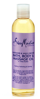 Harga SheaMoisture Lavender and Wild Orchid Bath, Body and Massage Oil - 230g