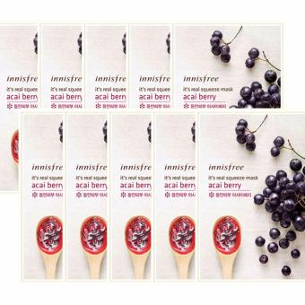 Harga [Innisfree] It's Real Squeeze Mask Acai Berry 10ea 20ml