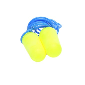 Harga 3M™ E-A-Rsoft™ Yellow Neons™ Earplugs - Regular Corded (10 pair pack)