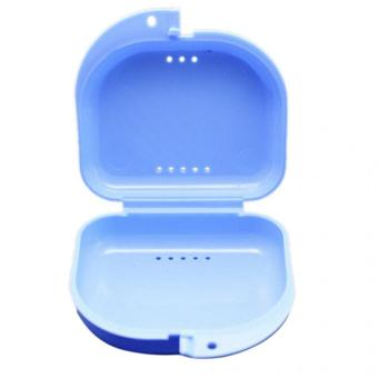 Harga Pop Dental Orthodontic Retainer Denture Storage Case Box Mouthguard Container