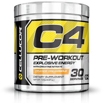 Harga Cellucor Fourth Generation C4 Pre-Workout Orange (30s)