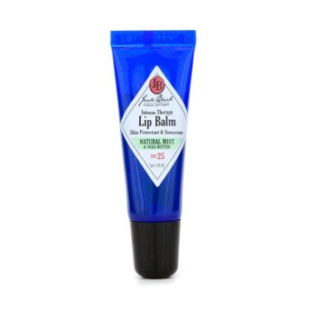 Harga Jack Black Intense Therapy Lip Balm SPF 25 With Natural Mint and Shea Butter 7g