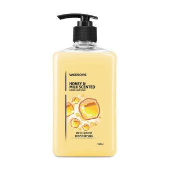 Harga Watsons Honey & Milk Scented Hand Soap 500ml