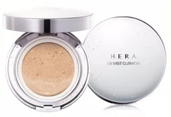Harga HERA UV MIST CUSHION SPF 50+ / PA+++ 15g+ [Refill] Product In Korea(# C23 Cool Beige Cover)