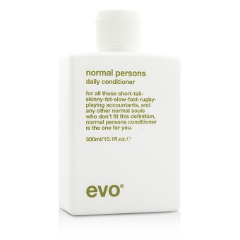 Harga Evo Normal Persons Daily Conditioner (For All Hair Types, Especially Normal to Oily Hair) 300ml/10.1oz