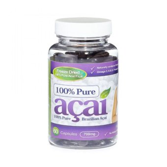 Harga 100% Pure Acai Berry 700mg 60 capsules