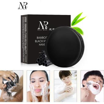 Harga NR Soft Purify Blackhead Clean Carbon Handmade Bamboo Charcoal Soap Oil Control - intl