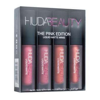 Harga Huda Beauty Liquid Matte Minis – The Pink Edition