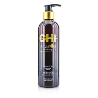 Harga CHI Argan Oil Plus Moringa Oil Shampoo - Sulfate & Paraben Free 355ml/12oz