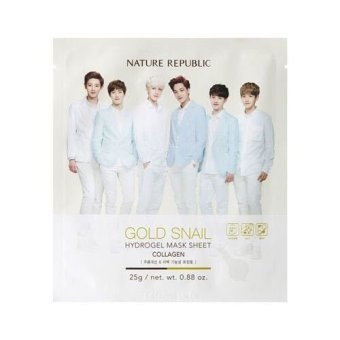Harga Nature Republic - Gold Snail Hydrogel Mask Sheet - Collagen