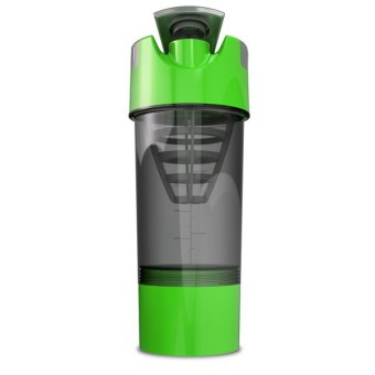 Harga Protein Shaker Blender Water Bottle Cyclone Cup Sports Mixer - Green