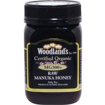 Harga Woodlands Organic Manuka Honey Black MG300+