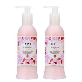 Harga 2 x OPI Avojuice Peony And Poppy Juice Hand And Body Lotion 8.5oz, 250ml Peony and Poopy - intl