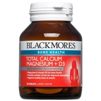 Harga Blackmores Total Calcium & Magnesium + D3 60 Tablets