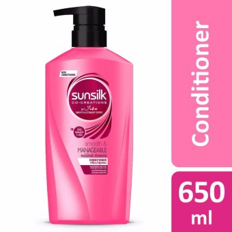 Harga Sunsilk Co-Creations Smooth & Manageable Conditioner 650ml