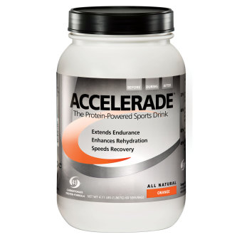 Harga Pacific Health Labs Accelerade Sports Drink Orange 60 Servings 4.11lbs With Free Gift