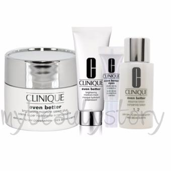 Harga Clinique Even Better 4-Piece Lotion, Cream Mask and Eye Set