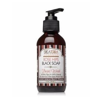 Harga Rose Hips Black Soap Deep Pore Facial Wash (4oz / 118ml)
