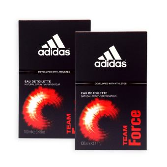 Harga Adidas MEN EDT - Team Force EDT Perfume 100ml x 2 bottles - 7597