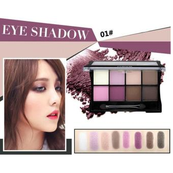 Harga 8 Colors Matte Shimmer Eyeshadow Eye Shadow Palette Makeup Cosmetic Colorful - intl