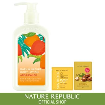 Harga Nature Republic Bath & Nature Apple Mango Body Lotion