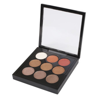 Harga Professional 9 Colors Matte Pigment Eyeshadow Palette Cosmetic Eye Shadow - intl