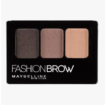 Harga Maybelline Fashion Brow Pallette Light Brown