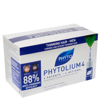 Phyto Phytolium 4 Chronic Thinning Hair Treatment 12 x 3.5ml