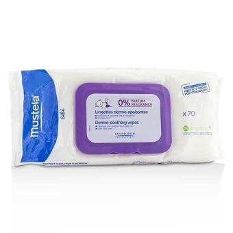 Harga Mustela Dermo-Soothing Wipes - Fragrance Free (Exp. Date: 07/2017) 70wipes - intl