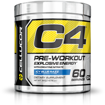 Harga Cellucor Fourth Generation C4 Pre-Workout Icy Blue Razz (60s)