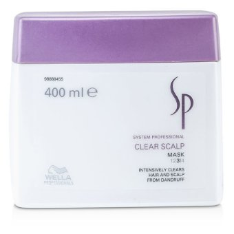 Harga Wella SP Clear Scalp Mask 400ml/13.33oz