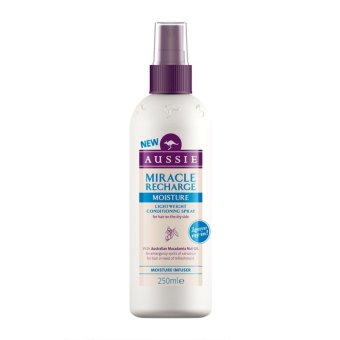 Harga Aussie Miracle Recharge Moisture Leave-in Conditioner 250ml