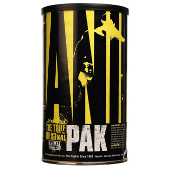 Harga Universal Nutrition Animal Pak Sports Nutrition Supplement Pack of 44 With Free Gift