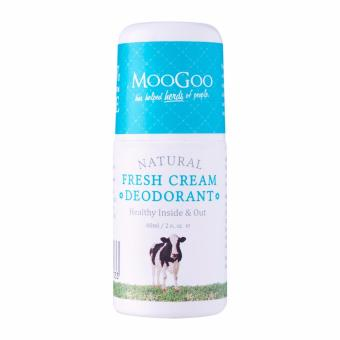 Harga MooGoo Natural Fresh Cream Deodorant