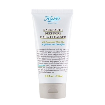 Harga Kiehl's Rare Earth Deep Pore Daily Cleanser (150ml)