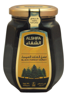 Harga HONEY ALSHIFA Black Forest Honey 500G, High Quality Dark Honey