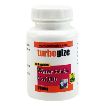 Harga CoQ10 Coenzyme Water Soluble 60 capsules