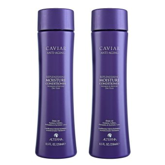 Harga 2 x Alterna Haircare Caviar Anti-Aging Replenishing Moisture Conditioner (Dry Hair) 8.5oz, 250ml - intl