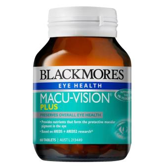 Harga Blackmores Macu-Vision Plus 60 Tablets