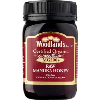 Harga Woodlands Organic Manuka Honey Red MG200+